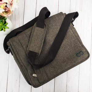 CaseCrown Gray Campus Messenger Bag